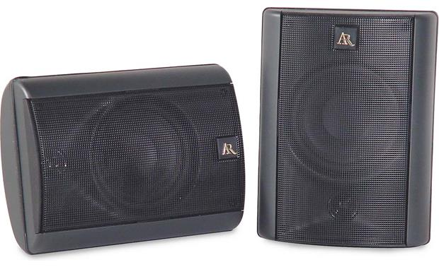 Acoustic Research Edge Sequel Black Multipurpose Speakers At Crutchfield