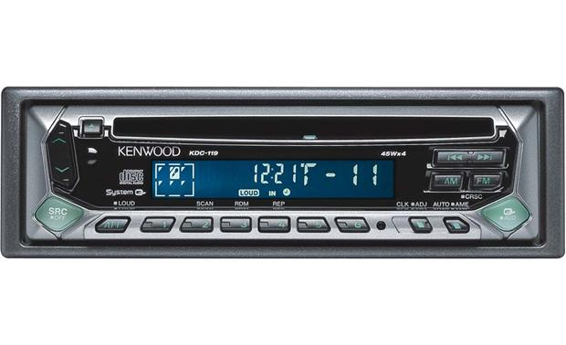 kenwood kdc 119 cd receiver at crutchfield com Kenwood Kdc 119 Wiring Diagram kenwood kdc 119 front kenwood kdc 119 wiring diagram
