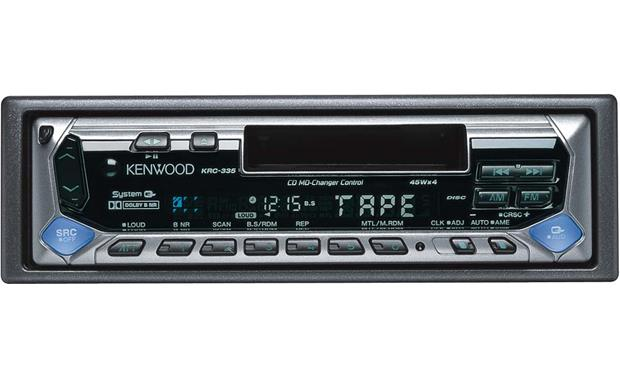 kenwood krc 335 cassette receiver at crutchfield com rh crutchfield com Kenwood Wiring Colors Kenwood Radio Wiring Diagram
