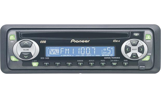 x130DEH1400 f pioneer deh 1400 cd receiver at crutchfield com pioneer deh 1400 wiring diagram at bayanpartner.co
