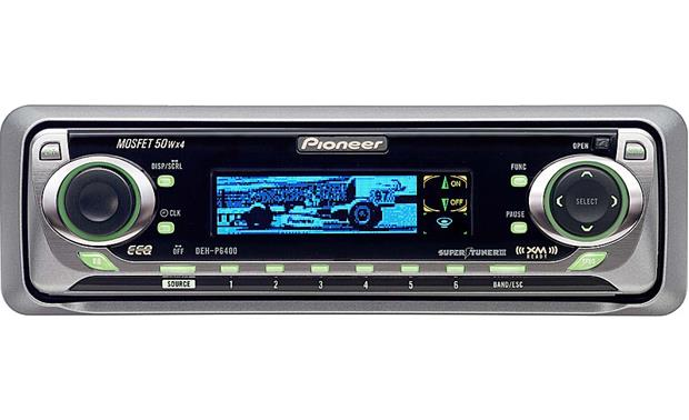 pioneer deh p6400 cd receiver with cd changer controls at Pioneer Deh X5500hd pioneer deh p6400 front