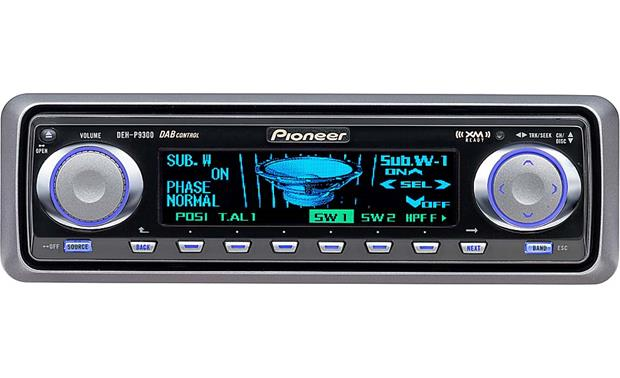 x130DEHP930_dmt pioneer deh p9300 cd receiver with cd changer controls at pioneer deh-p9300 wiring diagram at soozxer.org