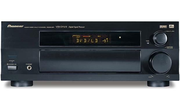 Pioneer vsx d710s av receiver with dolby digital and dts at pioneer vsx d710s front fandeluxe Choice Image