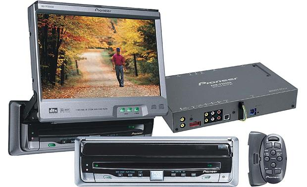 pioneer sys8dvd mobile package avx p7300dvd dvd cd playeravm p8000r audio master
