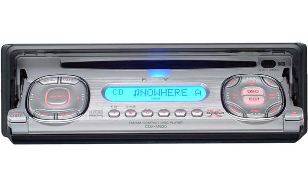 sony cdx-m620 cd receiver with cd changer controls at crutchfield  crutchfield