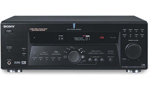 sony str de675 a v receiver with dolby digital and dts at rh crutchfield com Sony Stereo Receiver Sony STR De675 Manual