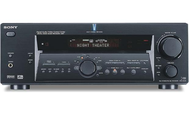 Sony STR-DE875 A/V receiver with Dolby Digital and DTS at Crutchfield