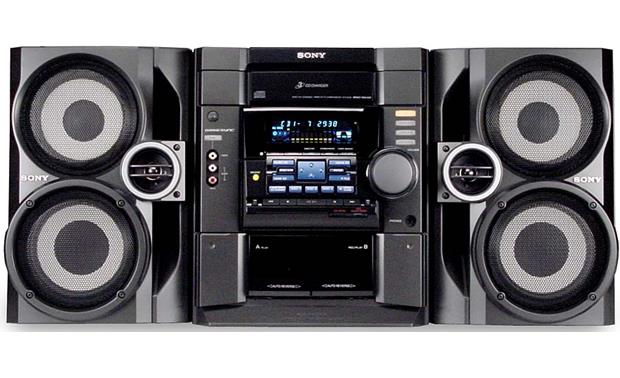 Sony Mhc Rg40 3 Cd Changer System At Crutchfield Com