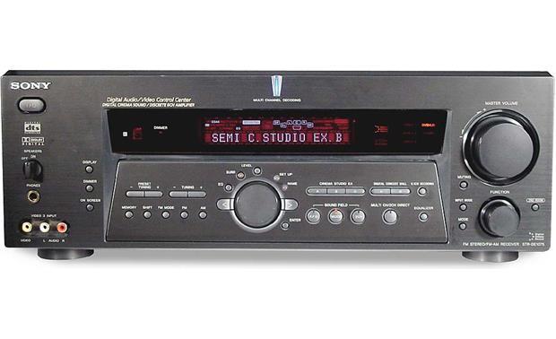 sony str de1075 a v receiver with dolby digital dts and 6 1 rh crutchfield com Sony STR K7000 Sony STR DN1030 Manual