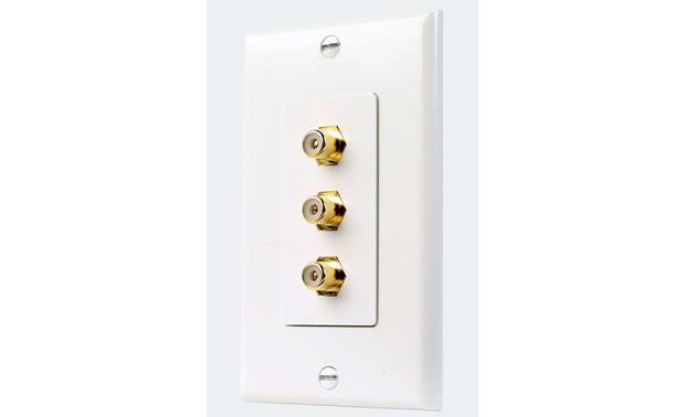 Niles Triple F-to-RCA Outlet Front