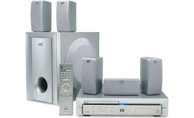 jvc th a5 dvd home theater system at crutchfield com rh crutchfield com JVC Shelf Stereo System Home Theater JVC TH M603 Manual
