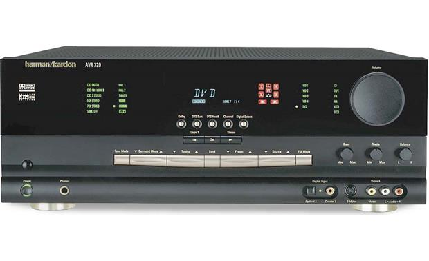Harman Kardon AVR 320 A/V receiver with Dolby Digital, DTS ... on