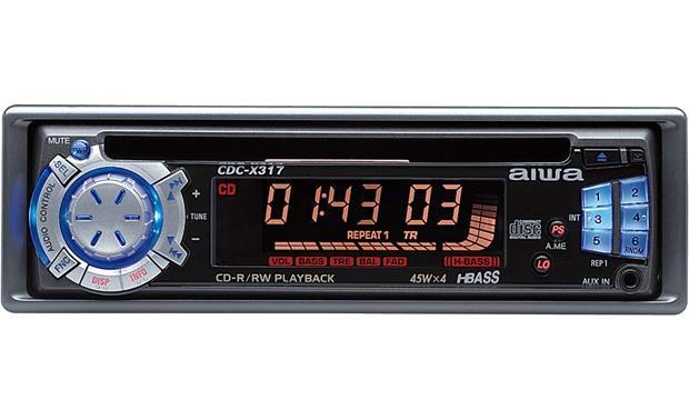 [SCHEMATICS_4PO]  Aiwa CDC-X317 In-dash CD Receiver at Crutchfield | Aiwa Cdc Wiring Diagram |  | Crutchfield