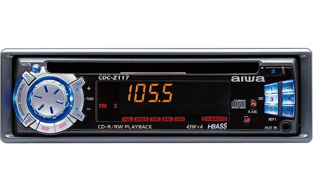 Aiwa CDC-Z117 CD Receiver at Crutchfield on
