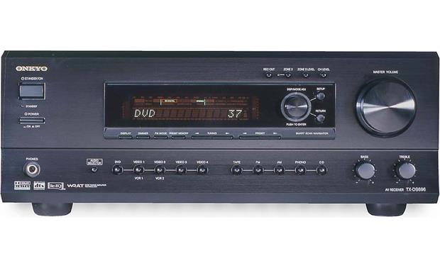 Onkyo TX-DS696 A/V Receiver with Dolby Digital, DTS, and ...