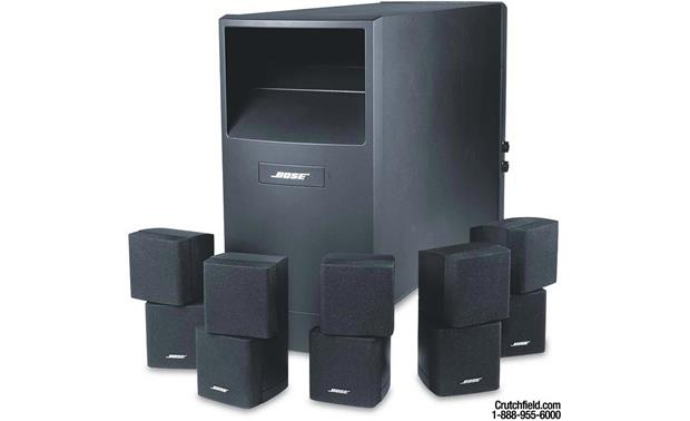bose acoustimass 10 series iii black home theater. Black Bedroom Furniture Sets. Home Design Ideas