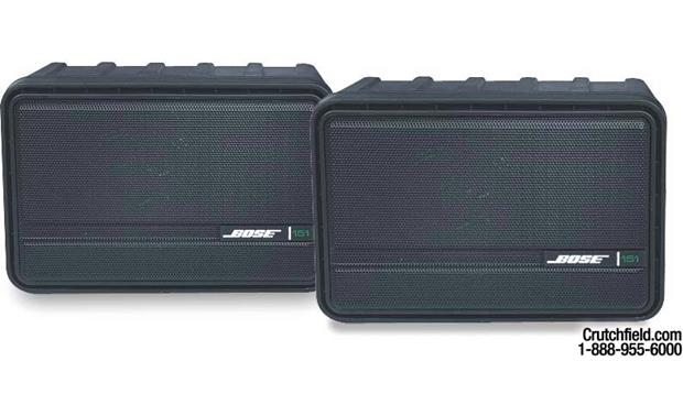 Bose® 151® (Black) Environmental speakers with mounting brackets at ...