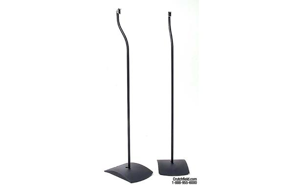 bose ufs 20 universal floor stands black pair at. Black Bedroom Furniture Sets. Home Design Ideas