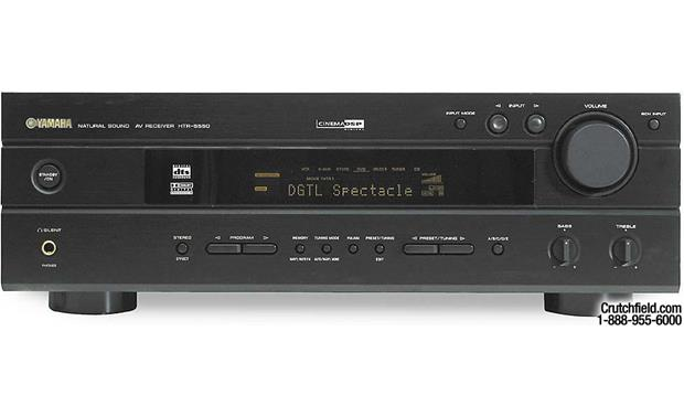 yamaha htr 5550 a v receiver with dolby digital dts and dolby pro rh crutchfield com Yamaha 5550 Receiver Yamaha HTR 5550 Review