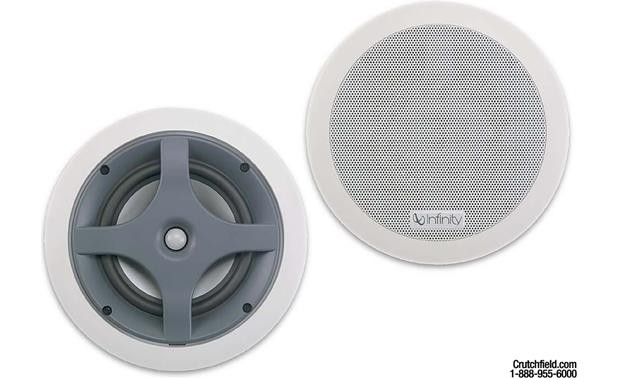 Infinity Ers 110 In Wall In Ceiling Speakers At Crutchfield Com
