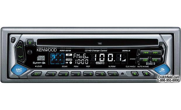 kenwood kdc 2019 cd receiver with cd changer controls at crutchfield com rh crutchfield com Kenwood KDC 2019 Wiring Kenwood KDC 2019 Wiring-Diagram