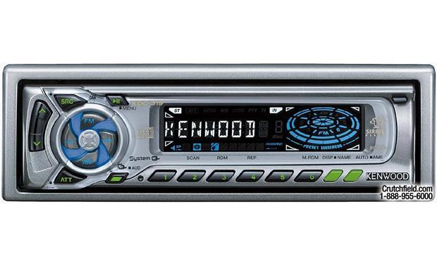 kenwood kdc 319 cd receiver with cd changer controls at. Black Bedroom Furniture Sets. Home Design Ideas