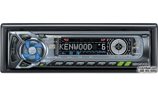x113KDCX459 f kenwood excelon kdc x459 cd receiver with cd changer controls at kenwood kdc x597 wiring diagram at honlapkeszites.co