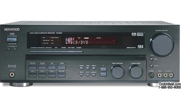 Kenwood VR-6050 A/V receiver with Dolby Digital EX, DTS, and Dolby