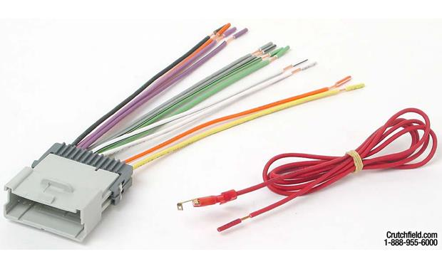 metra 70 2006 receiver wiring harness connect a new car stereo in select 2003 up gm vehicles at
