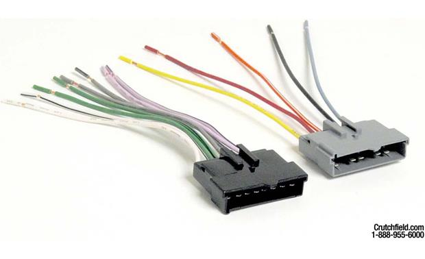 x120705002 f metra 70 5002 receiver wiring harness connect a new car stereo in Car Stereo Wiring Colors at n-0.co