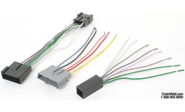 metra 70 5004 receiver wiring harness connect a new car stereo in select 1988 97 vehicles at