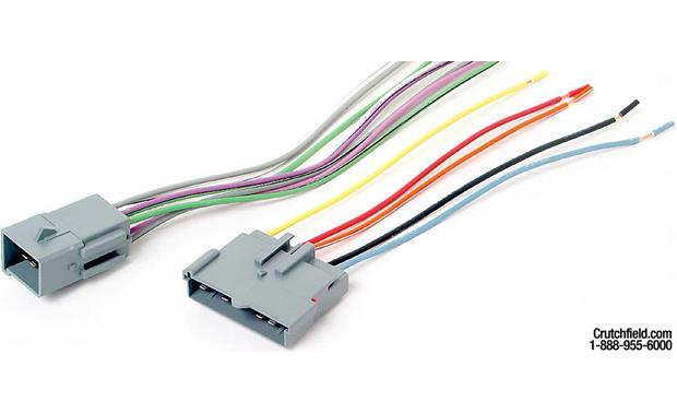 Metra 70-5005 Receiver Wiring Harness Front