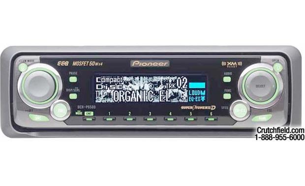 Pioneer DEH-P6500 CD Receiver with CD Changer Controls at CrutchfieldCrutchfield