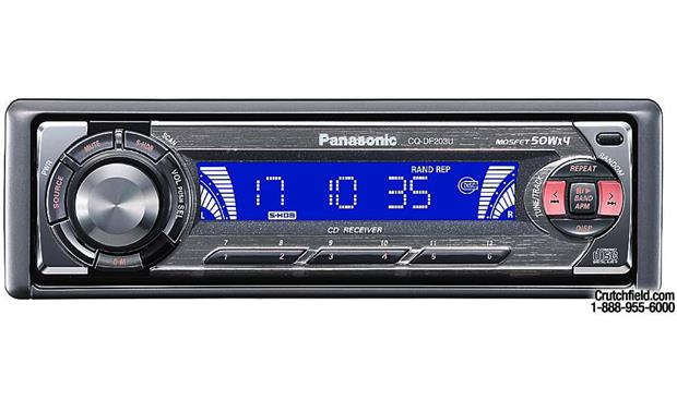 panasonic cq df203u cd receiver at crutchfield com rh crutchfield com