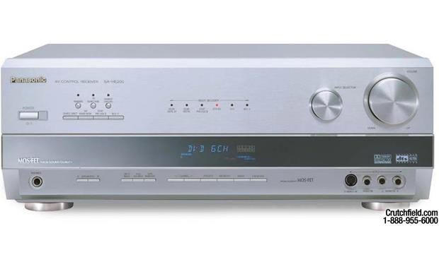 Panasonic SA-HE200 (Silver) Home theater receiver with Dolby