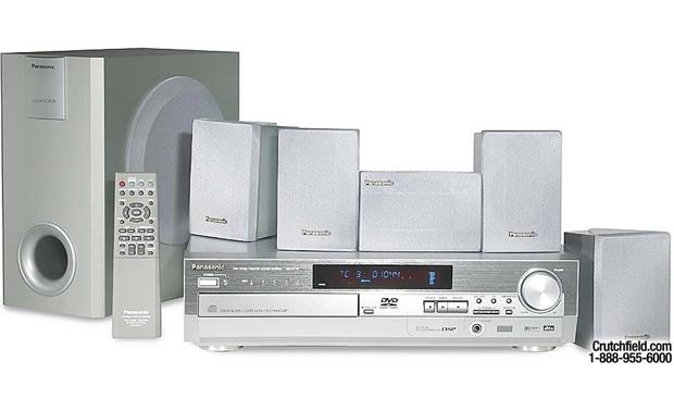 Dvd Home Theater System Panasonic