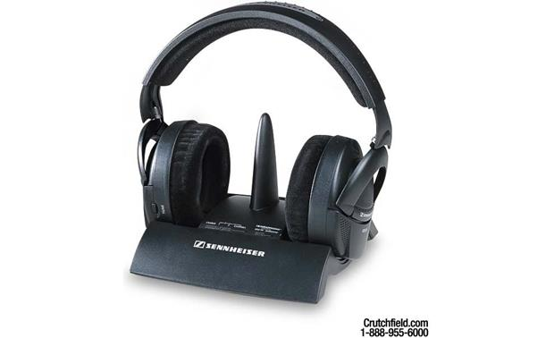 900 MHz Wireless Headphones 1 Review Sennheiser RS 65 Front