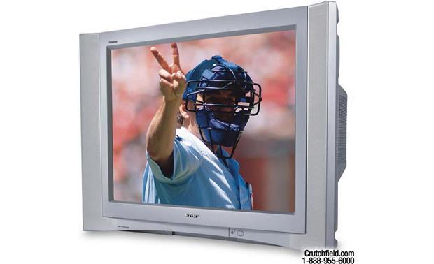 Sony Kv 32fv300 32 Fd Trinitron Wega Tv At Crutchfield