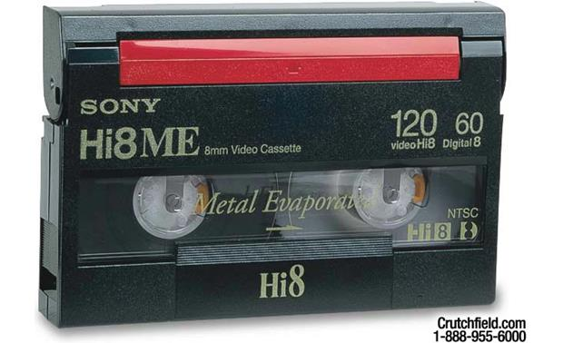 Sony Metal-Evaporated Hi8/Digital8 Tape Front