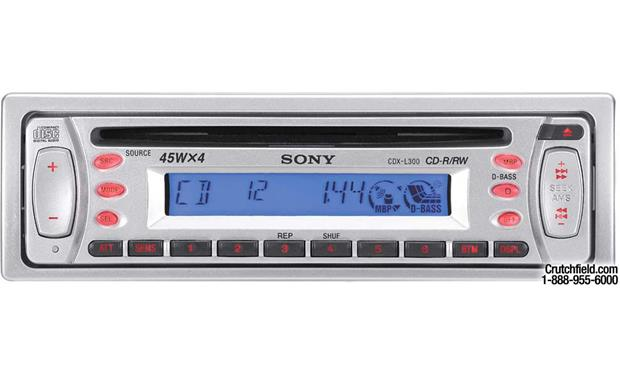 sony cdx l300 cd receiver at crutchfield