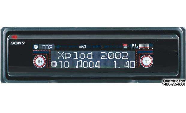 Sony Xplod CDX-M630 CD Receiver with CD Changer Controls at CrutchfieldCrutchfield