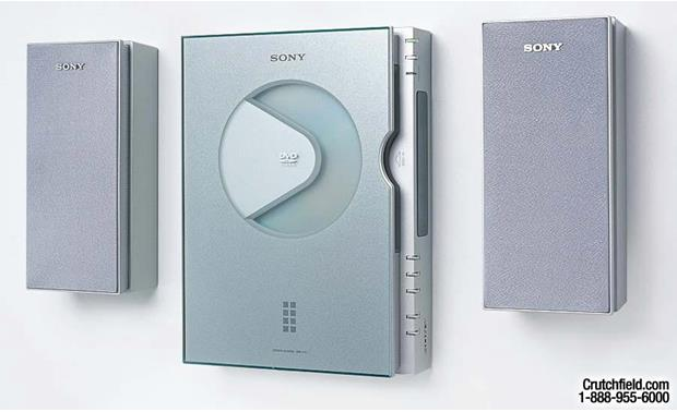 Sony Dvp F21 Sa F21 Dvd Cd Player And 3 Piece Powered