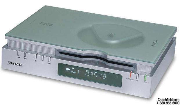 sony dvp f21 silver 3 position dvd cd player at. Black Bedroom Furniture Sets. Home Design Ideas