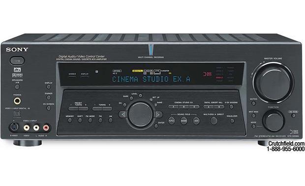 sony str de985 black a v receiver with dolby digital ex dts and rh crutchfield com sony str-de985 manual pdf sony str de685 manual