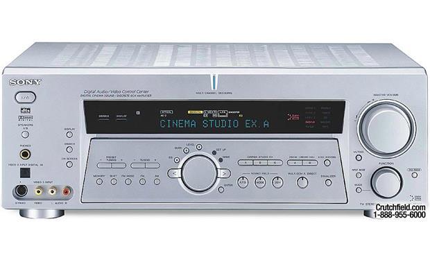sony str de985 silver a v receiver with dolby digital ex dts and rh crutchfield com sony str de925 manual sony str-de985 remote