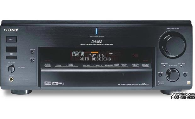 Sony ES STR-DA4ES A/V receiver with Dolby Digital EX, DTS-ES, Pro
