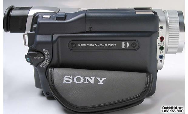Sony DCR-TRV740 Digital8 camcorder at Crutchfield.com