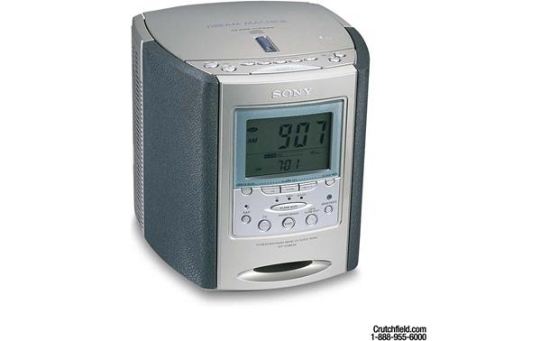 sony icf cd863v clock radio with cd player and triple alarm at rh crutchfield com