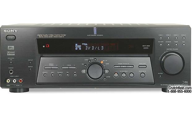 sony str de685 a v receiver with dolby digital dts and pro logic rh crutchfield com Sony Ta-Av531 Stereo Integrated Amplifier Sony Receiver Amplifier