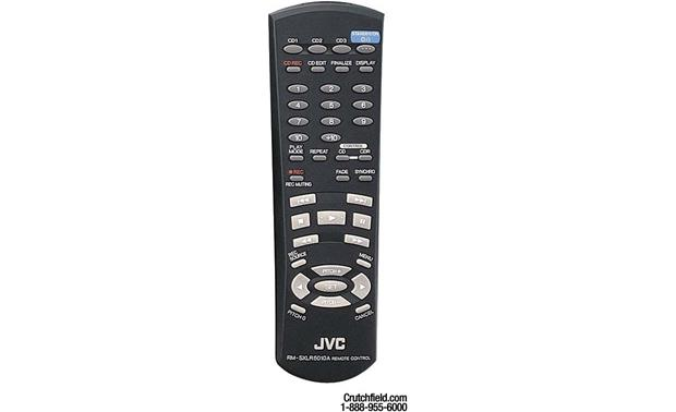 JVC XL-R5020BK 3-CD + 1-CD-R/RW changer/recorder at Crutchfield